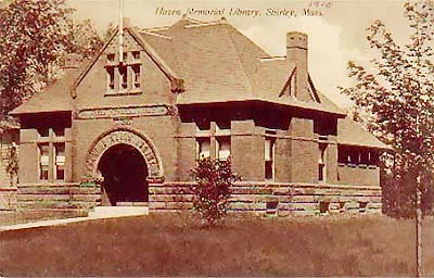 Hazen Memorial Library - 1916