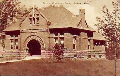Hazen Memorial Library - 1916